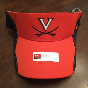 c3162677ba8ee ... NWT Virginia UVA Cavaliers Nike Orange Visor Hat